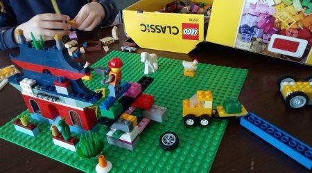 Lego rocks. I mean, blocks!